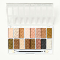 16 COLOR EYESHADOW PALETTE BY L.A. COLOR (SWEET)
