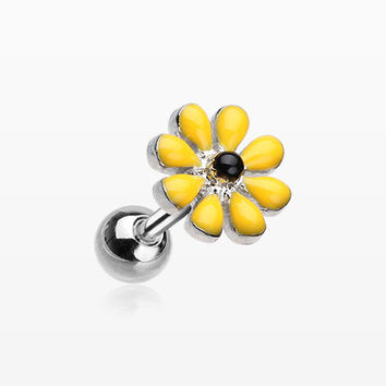 Spring Blossom Flower Cartilage Tragus Earring