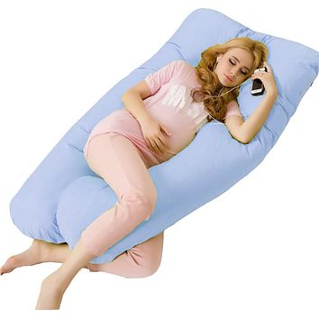 Big U Type Pregnancy Pillows Body Pillow for Pregnant Women Side Sleepers Pregnancy Pillow For Neck