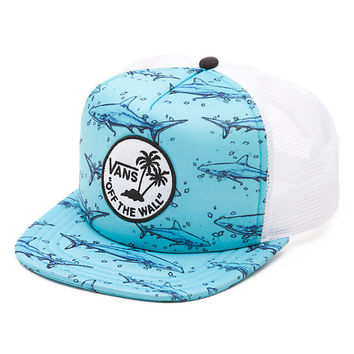 Vans Shark Trucker Hat (Blue)
