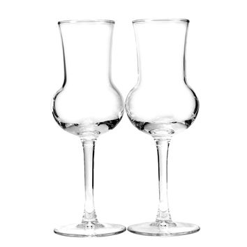 Crystal Grappa Glasses, ARC, France