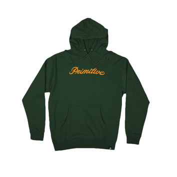 SIGNATURE LOGO HOODIE - HUNTER GREEN
