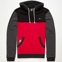 Lrg Deliriant Mens Hoodie Black/Red  In Sizes