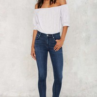 Citizens of Humanity Rocket High Rise Skinny Jeans - Waverly
