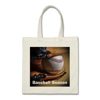 ToteBag: Baseball Season Budget Tote Bag
