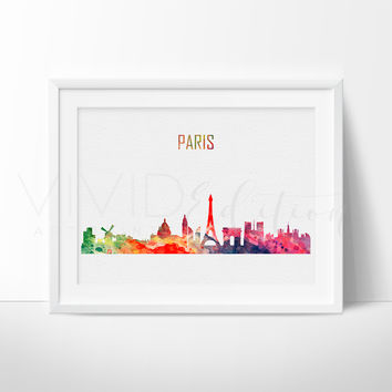 Paris, France Skyline