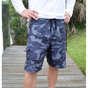 Signature Series Black Camo Board Shorts