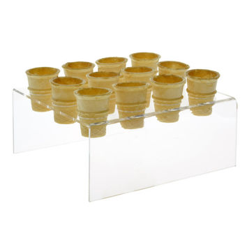 12 Slot Mini Ice Cream Cone Holder