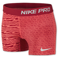 Girls' Nike Pro Printed Boy Shorts