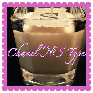 Chanel No5 type Scented 9oz Soy Candles