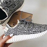adidas women yeezy boost sneakers running sports shoes-4
