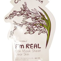 Tony Moly: I'm Real Rice Mask - Clear Skin