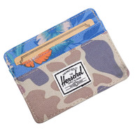 Herschell Supply Co Charlie Wallet Duck Camo/ Paradise