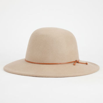 Blue Crown Mens Flat Brim Hat Taupe One Size For Men 25584441301