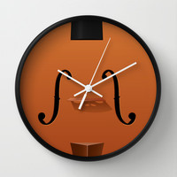 Violin Wall Clock by Rob Snow