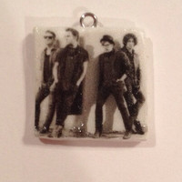 Fall Out Boy Charm by AlexTheGirlOfCrafts on Etsy