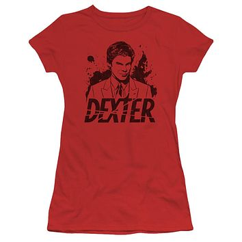 Dexter - Splatter Dex Short Sleeve Junior Sheer
