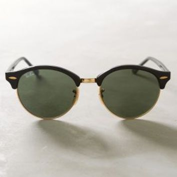 Ray-Ban Clubround Sunglasses in Black Size: One Size Eyewear