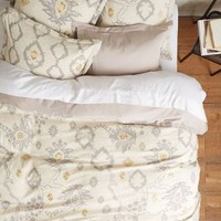Copacati Duvet by Anthropologie Grey