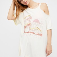 Free People We The Free Graphic Chloe Tee