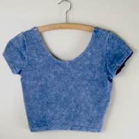 Claudia Acid Crop Tee from Now and Again Co.
