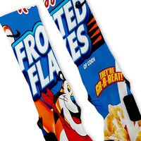 Frosted Flakes Custom Nike Elite Socks