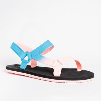 Colorful Ombre Sandals