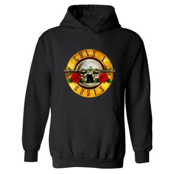 Rock Band Punk Guns N Roses Hooded Mens Hoodies And Sweatshirts Fashion Black Sweatshirt Men Hip Hop Casual Funny Clothes 4XL