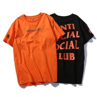 Anti social Social Club Fashion Shirt Short Sleeve T Shirt ASSC