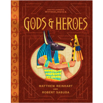 Encyclopedia Mythologica: Gods & Heroes Pop-Up Book