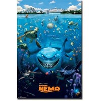 Finding Nemo Cast Movie Poster