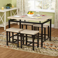 TMS Delano 5 Piece Dining Set