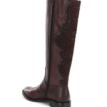 Gianni Bini Vallas Wide-Calf Riding Boots | Dillards