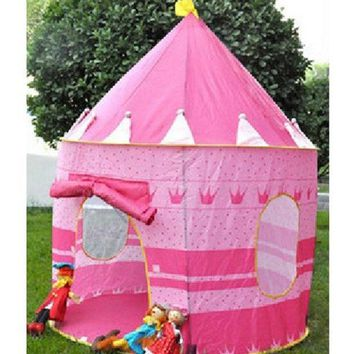 CREYUG3 Fashion Children's Toys Gaming Play House Princess Castle Tent = 1945787396