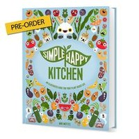 """The """"Simple Happy Kitchen"""" Hardcover Book"""