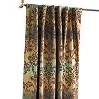 Pier 1 Imports - Product Detail - Brown & Blue Ombre Damask Panel