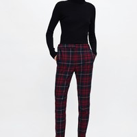 CHECKERED JOGGING PANTSDETAILS