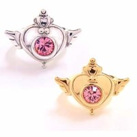 Sailor Moon Brooch Ring Silver925 **Preorder**