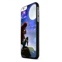 Ariel Little Mermaid Moonlight Iphone 6 Cases