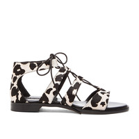 SENSO Genie II Cow Hair Sandal in Chalk