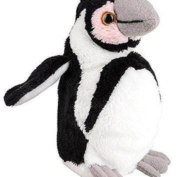 "Wildlife Tree 5"" Stuffed Penguin Chick Zoo Animal Plush Floppy Animal Heirloom Small World Collection"