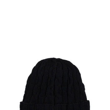 Mister Cable Beanie - Black