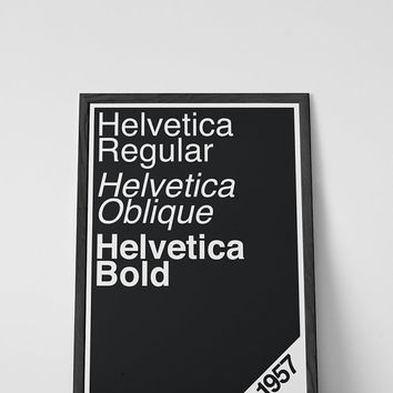 "Typography wall art print, graphic design, Helvetica print, Font family, Helvetica font poster 11""x17"" or 12""x18"""