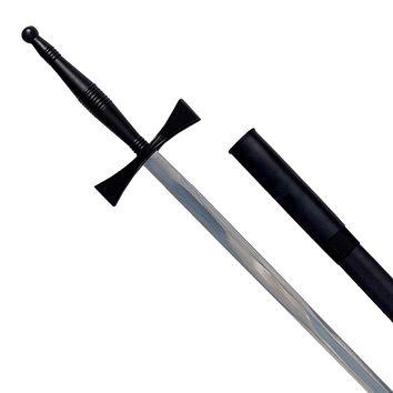Masonic Sword with Black Hilt and Black Scabbard 35 3/4""