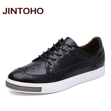 Mens Genuine Leather Shoes Luxury Mens Casual Leather Shoes High Quality Leather Moccasins Zapatillas Hombre