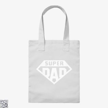 Superdad, Father's Day Tote Bag
