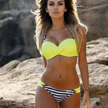 women beach bikinis swimsuit swimwear crop tops bathing suit