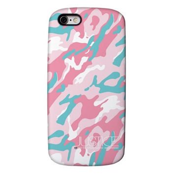 Driven spur pink camo card pack case -IPHONE 6 Case