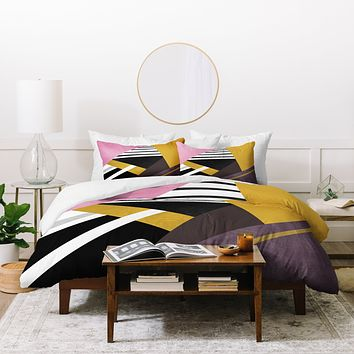 Elisabeth Fredriksson Geometric Combination 1 Duvet Cover