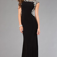 Black Floor Length Formal Gown